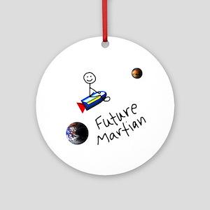Future Martian Ornament (Round)