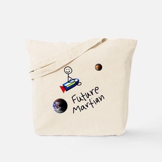 Future Martian Tote Bag