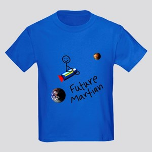Future Martian Kids Dark T-Shirt