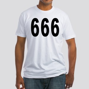 666 Fitted T-Shirt
