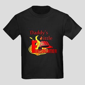 Little Firefighter Kids Dark T-Shirt