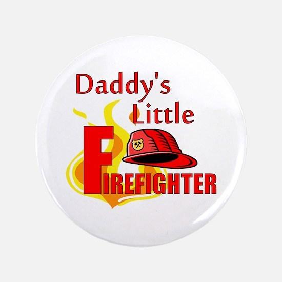 """Little Firefighter 3.5"""" Button"""