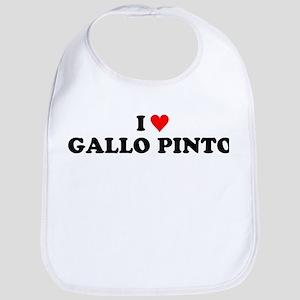 I Love Gallo Pinto Bib