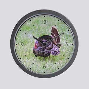 Male Turkey Wall Clock