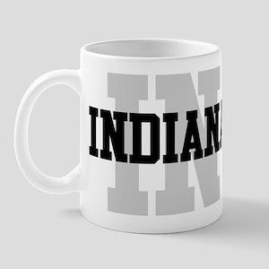 IN Indiana Mug