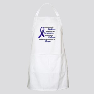 Supporting Admiring Honoring 2 (Blue) BBQ Apron