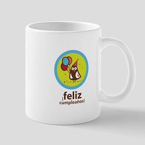 Spanish Happy Birthday Mug