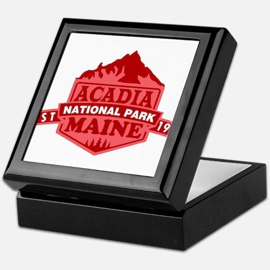 Acadia - Maine Keepsake Box