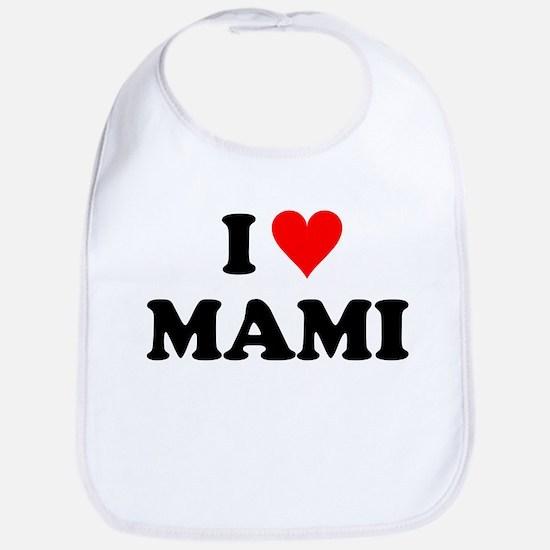 I Love Mami Bib