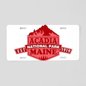 Acadia - Maine Aluminum License Plate