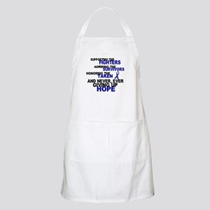 Supporting Admiring Honoring 3 (Blue) BBQ Apron