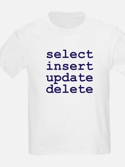 Cute Sql server data T-Shirt
