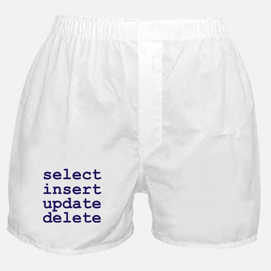 Cute Sql server Boxer Shorts