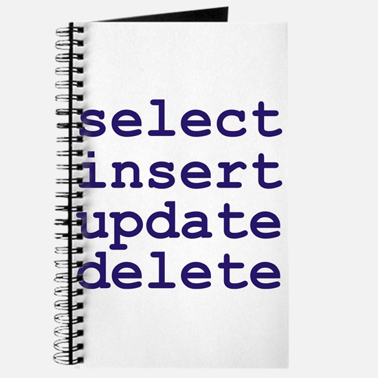 Cute Database administrator Journal