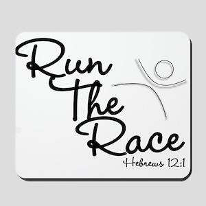 Run The Race Mousepad