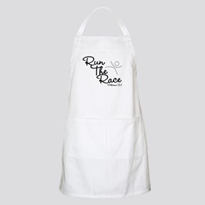 Run The Race BBQ Apron