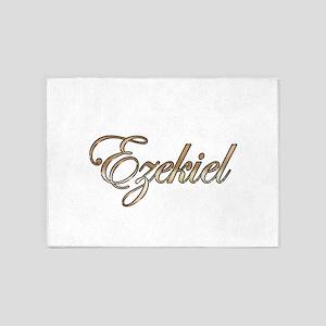 Gold Ezekiel 5'x7'Area Rug