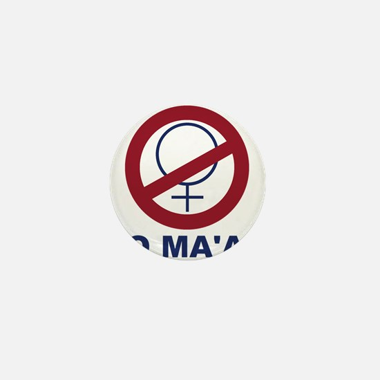 bundyism - no ma'am logo Mini Button