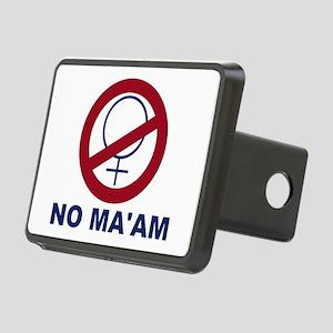 bundyism - no ma'am logo Rectangular Hitch Cover