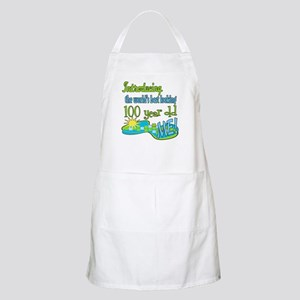 Best Looking 100th BBQ Apron