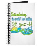 98 year old Journals & Spiral Notebooks