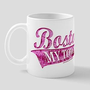 Boston My Town Pink Mug