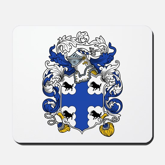 Hardy Family Crest Mousepad