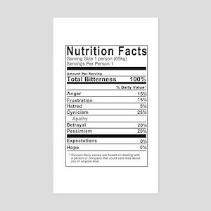 Nutritional Bitterness Rectangle Sticker