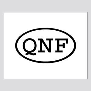 QNF Oval Small Poster