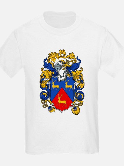 Hart Family Crest Kids T-Shirt