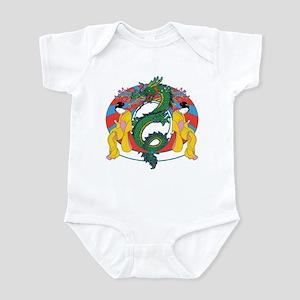 Geisha Dragon Infant Bodysuit