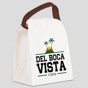 Del Boca Vista Canvas Lunch Bag