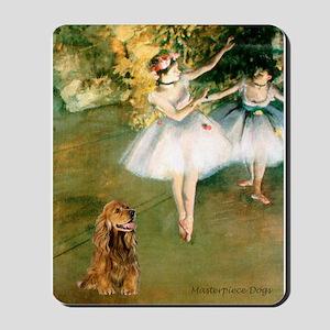 Dancers / Cocker (brn) Mousepad