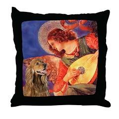 Angel (3) & Cocker (7) Throw Pillow