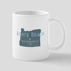 Agate Beach Oregon Vintage Mugs