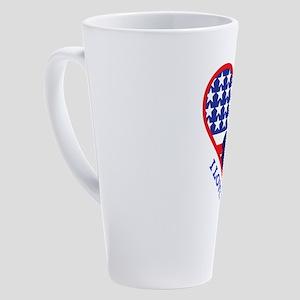 i love my solider 17 oz Latte Mug