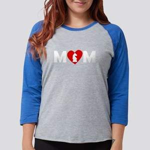 Chess Heart Mom Long Sleeve T-Shirt