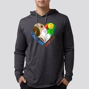 at home with your pets Long Sleeve T-Shirt