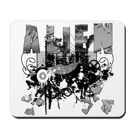 Alien Vector Design 2 Mousepad