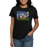 Starry / Cocker (#7) Women's Dark T-Shirt