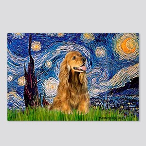 Starry / Cocker (#7) Postcards (Package of 8)
