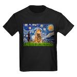 Starry / Cocker (#7) Kids Dark T-Shirt
