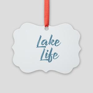 Lake Life Picture Ornament