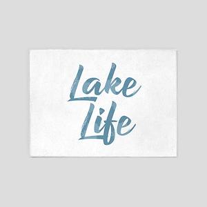 Lake Life 5'x7'Area Rug