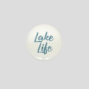 Lake Life Mini Button