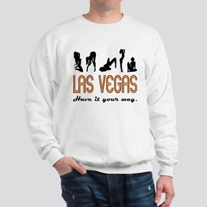 Las Vegas (sex) Sweatshirt