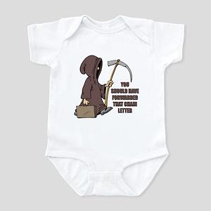 Chain Letter Infant Bodysuit