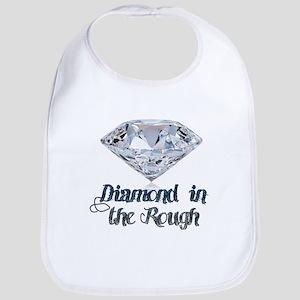 Diamond in the Rough Baby Bib