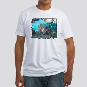 Sea Monkey Fitted T-Shirt