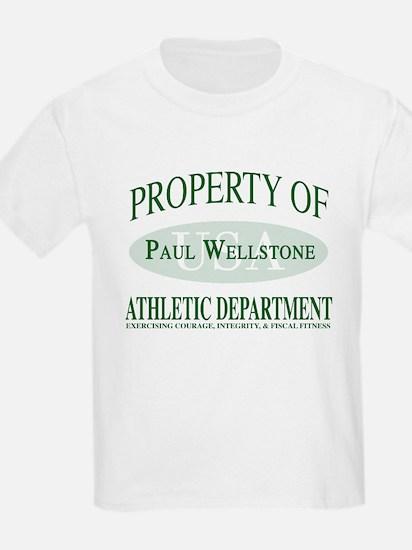 Wellstone Athletic Dept Kids T-Shirt